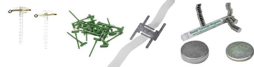 Булавки для бутоньерки, магниты, браслеты