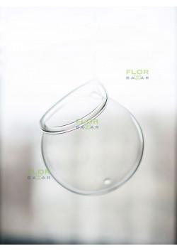 Подвесной стеклянный шар. 12 см.