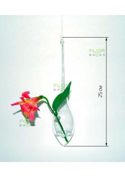 Флористическая подвесная пробирка Капля