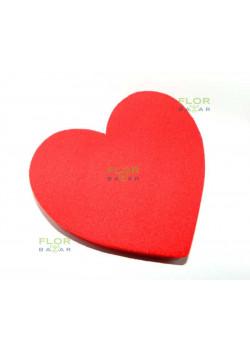 Цветная флористическая пена оазис RAINBOW®. Сердце. Красный барокко