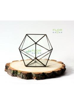 Флорариум Икосаэдр 130х130х125 мм
