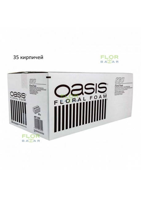 Пена для сухоцветов оазис OASIS® SEC, 20 кирпичей