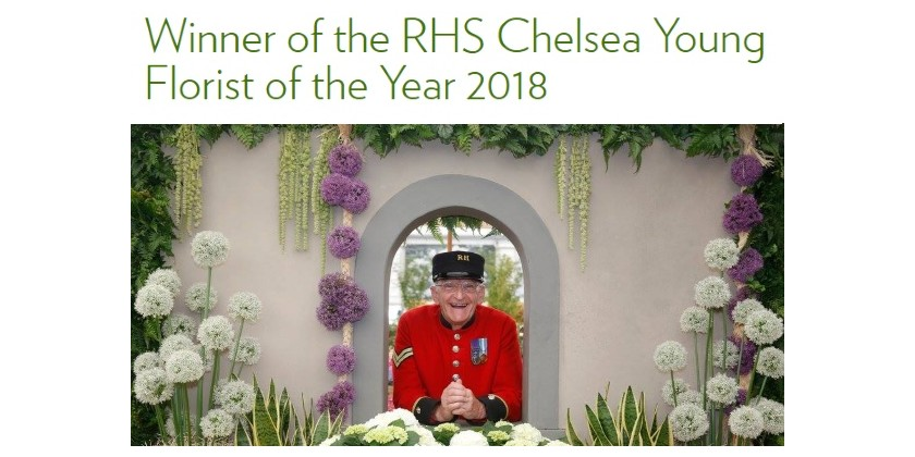 RHS Chelsea Florist of the Year 2018