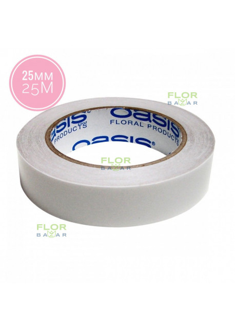 Двухсторонний скотч OASIS® Double-Fix Clear 25 мм х 25 м