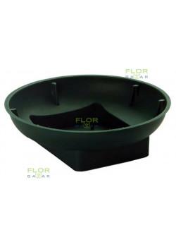Плошка OASIS® Round Bowl, круглая зелёная