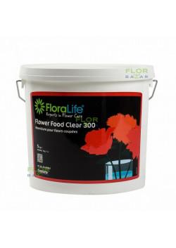 Подкормка для срезанных цветов Floralife® Flower Food CLEAR 300, ведёрко 2 кг