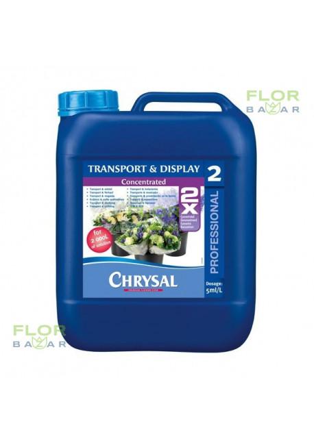 Консервант для срезанных цветов Chrysal Professional 2, канистра 5 л.