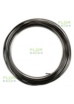 Чёрная флористическая проволока. 2 мм*5 м