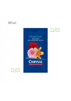 Подкормка для срезанных цветов Chrysal Clear для 0,5 л воды. 100 шт