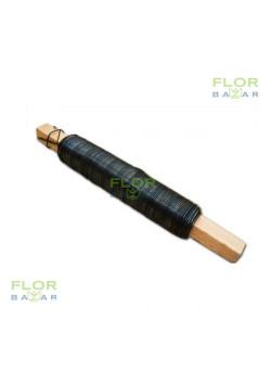 Флористическая проволока на палочке, техническая. 0,6-0,7 мм. 100 г