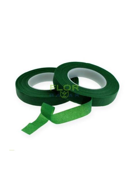 Тейп лента тёмно-зелёная